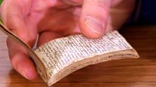 হাতে লেখা নোটবুক