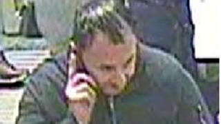 CCTV image of a man police want to speak to