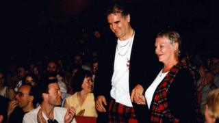 Billy Connolly and Judi Dench in 1997, the year they starred in Mrs Brown