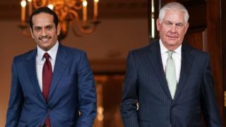 شهدت فترة المهلة تحركات دبلوماسية قطرية نشطة