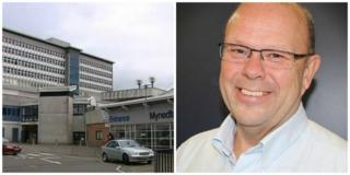 University hospital of Wales and Len Richards