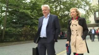 Carwyn Jones and Christina Rees