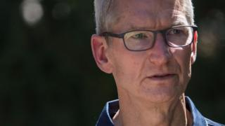Tim Cook said Apple would rather not remove the apps