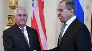 وزيرا الخارجية الأمريكي والروسي