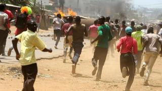 Kisumu clash between supporters and police