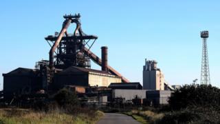 SSI UK steel blast furnace site, Redcar