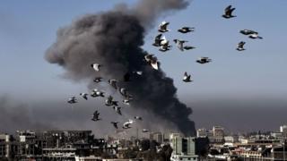 Musul hava saldırısı