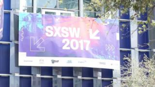 "A sign saying ""SXSW 2017"""