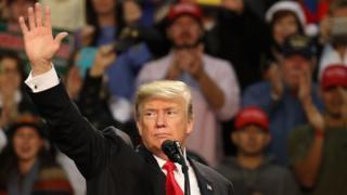 Trump at rally in Pensacola, Florida - 8 December