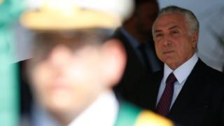 El presidente de Brasil, Michel Temer.