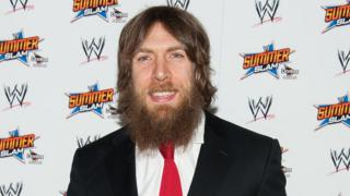Daniel Bryan at the WWE SummerSlam Press Conference in Beverly Hills