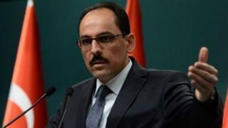 Cumhurbaşkanlığı Genel Sekreter Yardımcısı ve Sözcüsü İbrahim Kalın