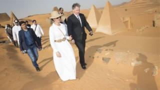 Візит катарської принцеси до Судану критикували у Єгипті