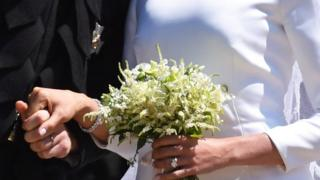 Duchess of Sussex's bouquet