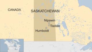 Map of Saskatchewan