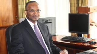 Gavana wa benki kuu Kenya Patrick Njoroge