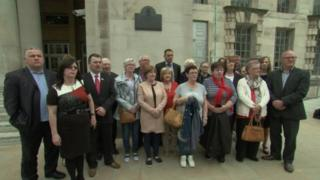 Ballymurphy families gathered in London