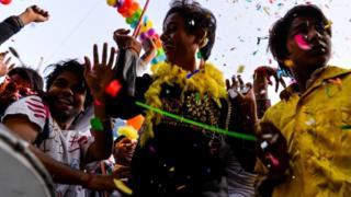 ہم جنس پرستوں کی پریڈ دہلی