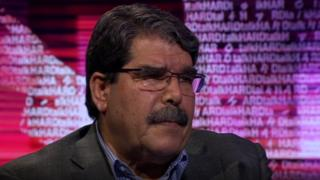 Saleh Muslim on BBC's HardTalk show on 2 July 2014