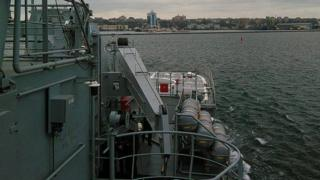 навчання українських моряків та кораблів НАТО в Чорному морі