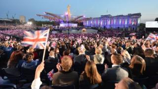 Queen's Diamond Jubilee Concert (June 2012)