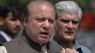 د پاکستان لومړی وزیر نوازشریف