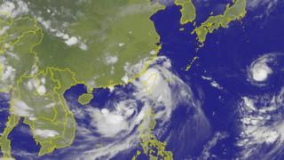 尼莎与海棠两个台风在上周周末接连侵袭台湾