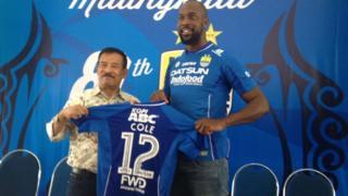 Carlton Cole, Bandung, Persib