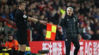 Jose Mourinho a wasan United da Southampton