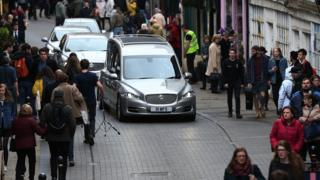 Neil Fingleton's funeral