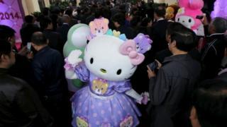 Hello Kitty fan event