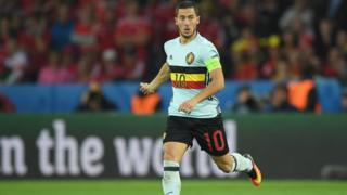 Eden Hazard n'a plus joué depuis trois mois après sa fracture à une cheville début juin.