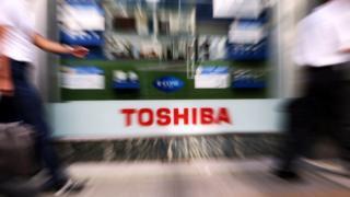 логотип Toshiba