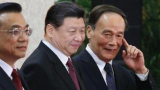 中共最高層領導人