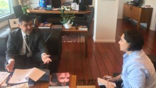 Türkiye'nin Avrupa Birliği Daimi Temsilcisi Faruk Kaymakçı