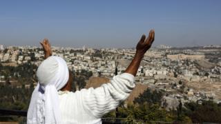 Israeli woman from the Ethiopian Jewish community