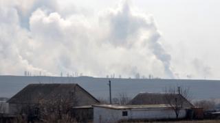 вибухи біля військового арсеналу поблизу Балаклії