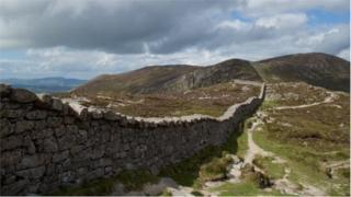 Hundreds of thousands of hikers visit the Mourne area to walk in the mountains every year