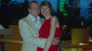 George Taylor and Angela Poole in Dubai
