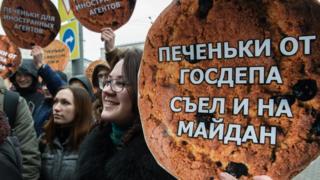 Протест активистов антимайдана
