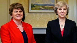 "The Conservatives are holding talks with the DUP about backing a minority government - but any announcement is set to be put back because of the unfolding tragedy of the Grenfell Tower blaze, the BBC understands. DUP sources told the BBC the two sides were close to reaching agreement and the talks were not in trouble.But the London tower block fire made any announcement on Wednesday ""inappropriate"" and diary commitments meant finalisation of any deal could be delayed until next week. Election Live - rolling text and video updates Quick guide to what's going on Who are the DUP's 10 MPs? Such a delay would mean the Queen's Speech, which had originally been planned for next Monday, could be delayed by at least a week and it could also delay the start of Brexit talks.The DUP source told BBC assistant political editor Norman Smith that Mrs May and DUP leader Arlene Foster were now finalising the ""terms and conditions"" of the agreement. The Conservatives are having to rel.."