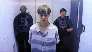 Dylann Roof in jail
