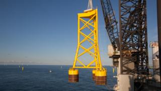 The company will make suction buckets to anchor the turbines to the sea bed