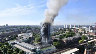 آتشسوزی ساختمان گرنفل لندن