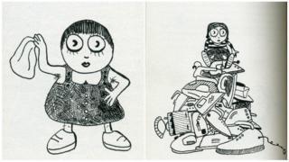 Ilustraciones del libro Comunismo para niños