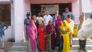महिला सरपंच गीता देवी राव