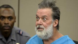 Robert Lewis Dear attends a hearing to face 179 counts of various criminal charges at El Paso County court in Colorado Springs, Colorado