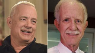 Tom Hanks and Chesley 'Sully' Sullenberger