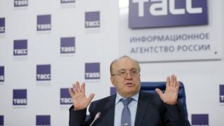 Виктор Садовничий на пресс-конференции 14 марта