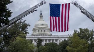 Капитолий в США в Вашингтоне